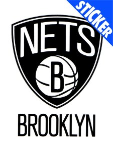 BROOKLYN NETS 5X6 ULTRA DECAL FROM WINCRAFT