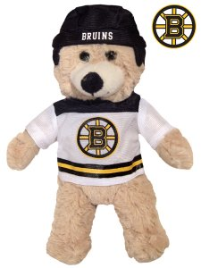 BOSTON BRUINS 9 INCH SLAP SHOT BEAR