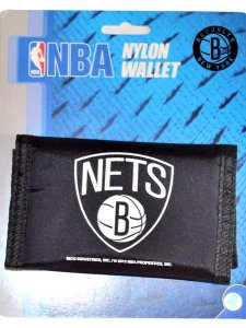 BROOKLYN NETS NYLON WALLET