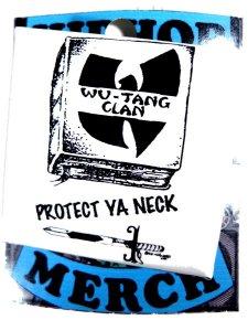 """Wu Tang Clan """"Protect Ya Neck"""" Can Badge"""