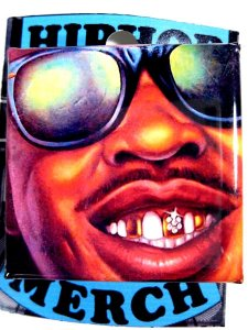 "Slick Rick ""It's a Boy"" Can Badge"