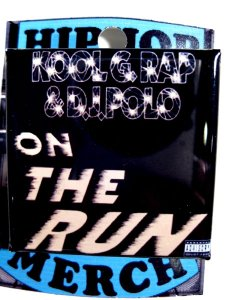 "Kool G Rap & Dj Polo ""On The Run"" Can Badge"