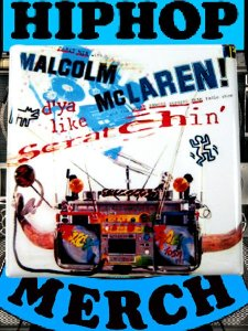 "Malcolm Maclaren ""Scratchin"" Can Badge"