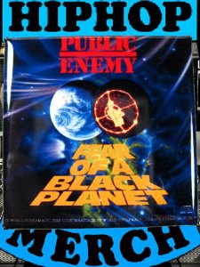 "Public Enemy ""Fear Of A..."" Can Badge"