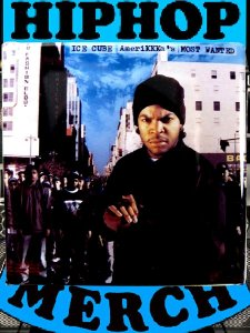 "Ice Cube ""Amerikkkas Most Wanted"" Can Badge"