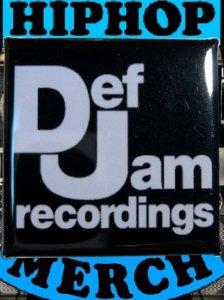 Def Jam Recordings Can Badge