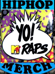 YO! MTV RAPS Can Badge