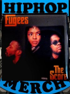 "The Fugees ""The Score"" Can Badge"