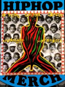 "A Tribe Called Quest ""Midnight Marauders"" Can Badge"