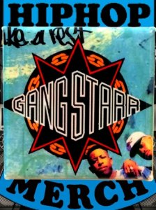 "GANGSTARR ""Take A Rest"" Can Badge"