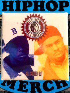 """Pete Rock & CL smooth """"ALL SOULD OUT"""" Can Badge"""