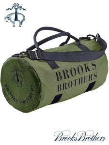 BROOKS BROTHERS DUFFLE DRUM BAG