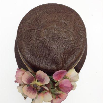 Vintage Flower Head Dress (ヴィンテージ フラワー ヘッドドレス) ベロアリボン付