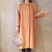 50's Style Coat / Alpaca Brown (50年代スタイル アルパカ混 ウールコート)