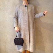 50's Style Coat / Wool gray (50年代スタイル  ウールコート)