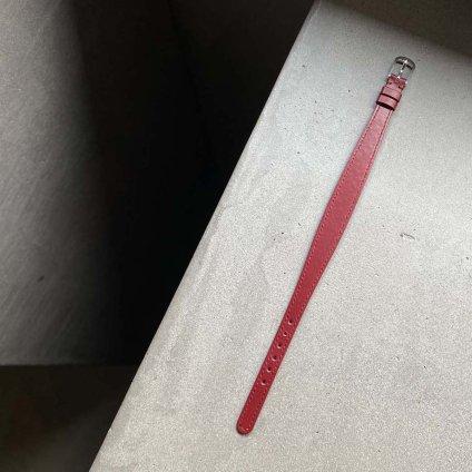国内老舗ベルトメーカー別注 ROLEX CHAMELEON(ロレックス カメレオン)用ベルト Red