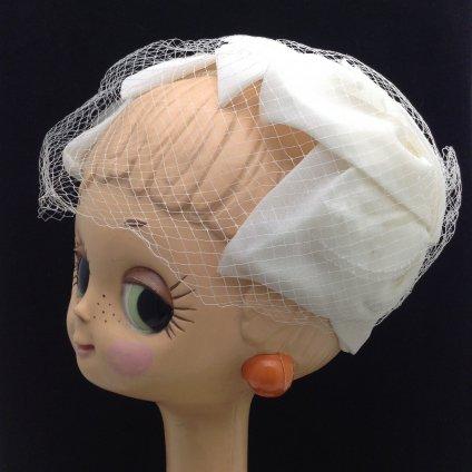 Vintage wedding Head Dress (ヴィンテージ ウェディング ヘッドドレス) スパンコール