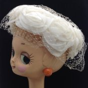 Vintage Flower Head Dress (ヴィンテージ フラワー ヘッドドレス) 薔薇モチーフ