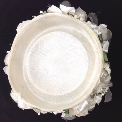 Vintage Flower Head Dress (ヴィンテージ フラワー ヘッドドレス) ホワイト