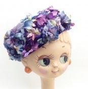 Vintage Flower Head Dress (ヴィンテージ フラワー ヘッドドレス) パープル小花
