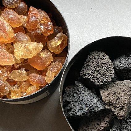 MAD et LEN Pot Pourri d'Apothicaire BLACK LAVA ROCK SPIRITUELLE(マドエレン ポプリ ブラック ラヴァロック スピリチュエール)