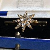 Victorian Glass Brooch (ヴィクトリアン ガラス ブローチ)