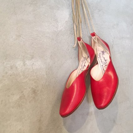 SONOMITSU Lace Up Shoes(ソノミツ レースアップシューズ)Red