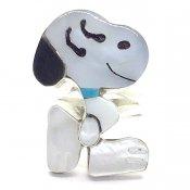 Paula Leekity Ring Snoopy(ポーラ リーキティ リング 9.5号 スヌーピー)
