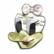 Paula Leekity Brooch Pendant top Daisy Duck(ポーラ リーキティ ブローチ・ペンダントトップ デイジーダック)