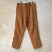 <img class='new_mark_img1' src='https://img.shop-pro.jp/img/new/icons20.gif' style='border:none;display:inline;margin:0px;padding:0px;width:auto;' />【40%OFF】suzuki takayuki pasted pants(スズキタカユキ ペーストパンツ)Orange/Men's