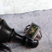 Split Shank Green Turquoise Ring (スプリットシャンク リング)