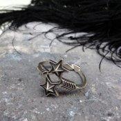 Arrow Sheriff Star Ring by Cody Sanderson(コディ・サンダーソン作 アロー シェリフスターリング)