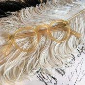 50's FRANCE CEBO Crown Panto Frame(セボ クラウンパント メガネフレーム)Yellow