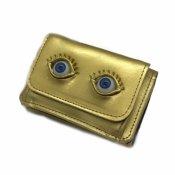 【40% OFF】AHCAHCUM EyeBall PassCase(あちゃちゅむ アイボール パスケース)Gold