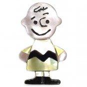 Paula Leekity Brooch Pendant top Charlie Brown(ポーラ リーキティ ブローチ・ペンダントトップ  チャーリー・ブラウン)