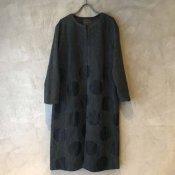 VINCENT JALBERT Dots Coat (ヴィンセント ジャルベール ドットコート)  Charcoal