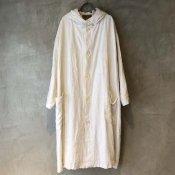 VINCENT JALBERT Hood Coat  (ヴィンセント ジャルベール フードコート ) Off White
