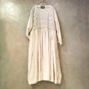 VINCENT JALBERT Lace Dress  (ヴィンセント ジャルベール レースドレス ) Natural