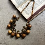 1950's Wood Beads Necklace(1950年代 ウッドビーズネックレス)