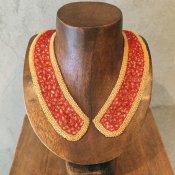 1920's Flapper Glass beads Antique Collar(1920年代 フラッパー ガラスビーズ アンティークつけ襟)