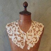 Victorian Tape lace Antique Collar(ヴィクトリアン テープレース アンティークつけ襟)