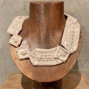 1920's Flapper Cotton Rope Collar(1920年代 フラッパー コットンロープ つけ襟)