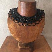 1960's Czech Republic Glass Beads Collar(1960年代 チェコ ガラスビーズ つけ襟)