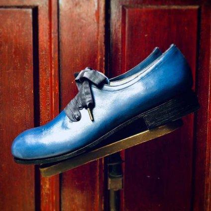 SONOMITSU Lace Up Ribbon Shoes(ソノミツ レースアップリボンシューズ)Blue
