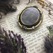 Victorian Mourning Jewelry Brooch(ヴィクトリアン モーニング ジュエリー ブローチ)