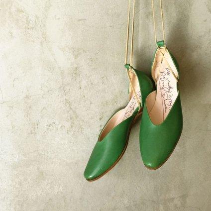 SONOMITSU Lace Up Shoes(ソノミツ レースアップシューズ) Green