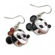 Paula Leekity Earrings Mickey Mouse and Minnie Mouse(ポーラ リーキティ ピアス ミッキーマウス&ミニーマウス)