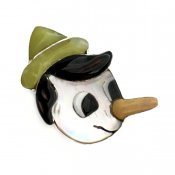 Paula Leekity Brooch Pendant top Pinocchio(ポーラ リーキティ ブローチ・ペンダントトップ ピノキオ)