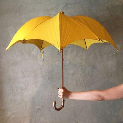 DiCesare Designs (ディチェザレデザイン) 晴雨兼用日傘 Kabocha 1TONE Burgundy