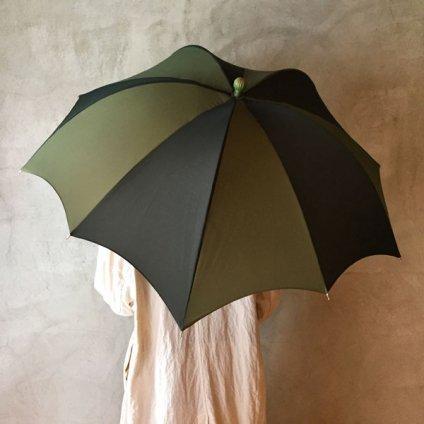 DiCesare Designs (ディチェザレデザイン) 雨傘 ZUCCA 2tone Green